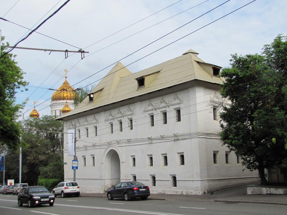 Москва На Пречистенке, месте убийства Станислава
